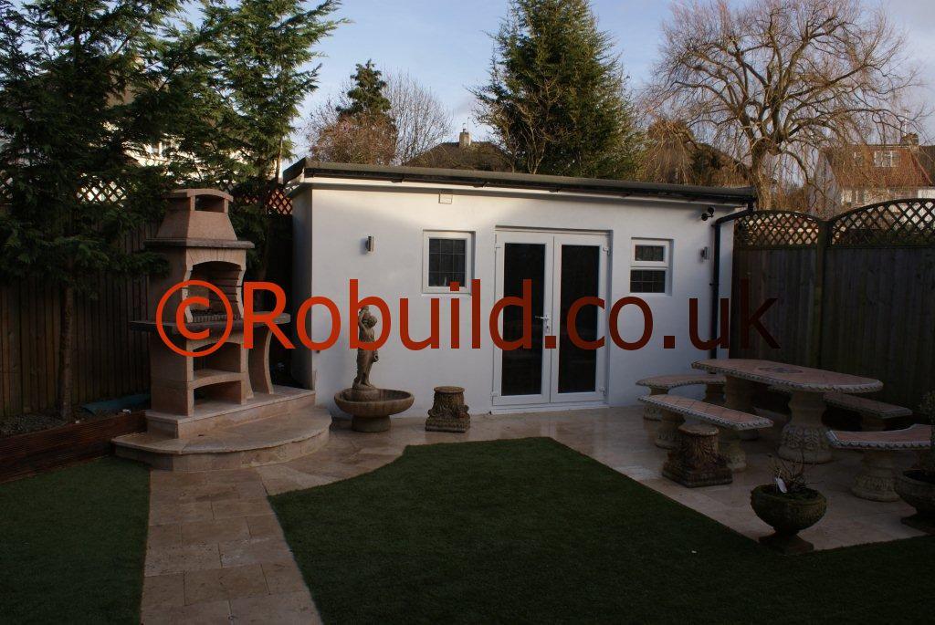 New outdoor building ,garden