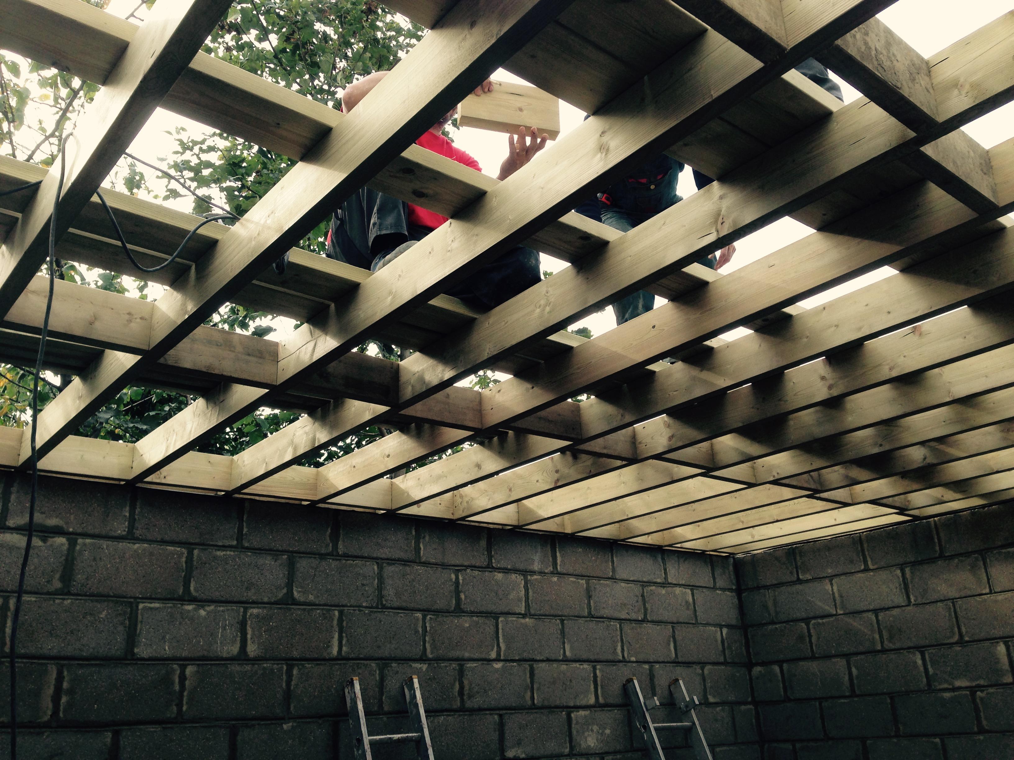 Roof joist works