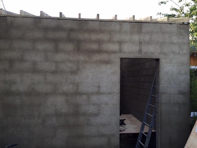 Rendering walls