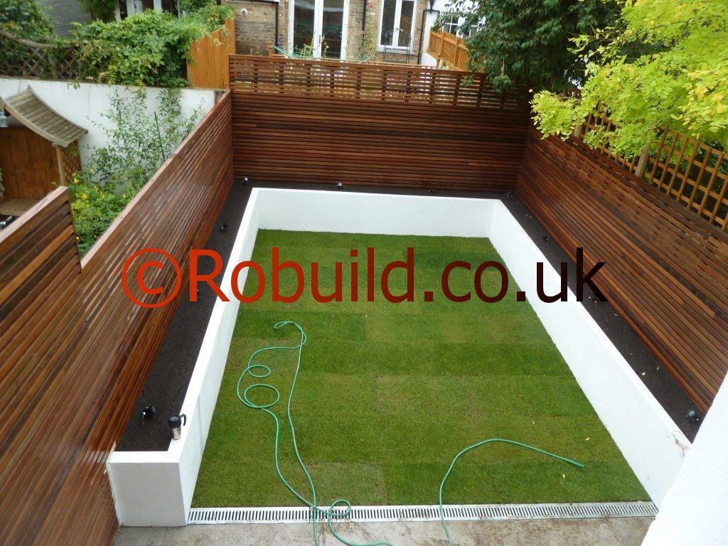 Garden London Robuild Builders