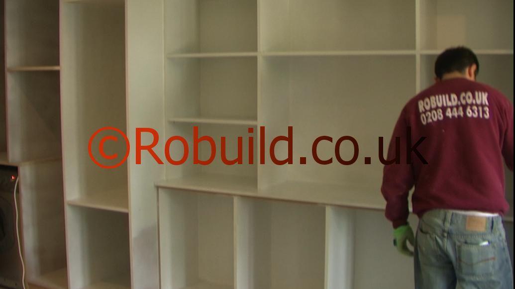 carpenters building cupboards London