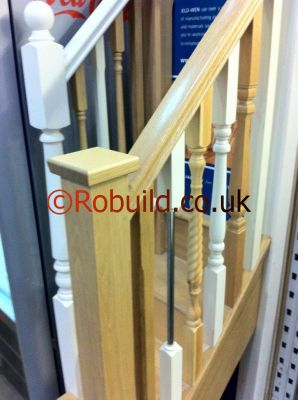 newel handrail baluster