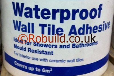 adhesive tiling