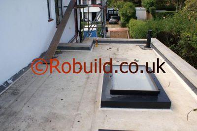 flat roof boiler flue