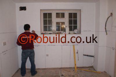 planning kitchen robuild london