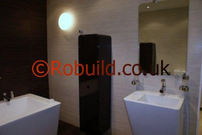 bathroom fitters in Kensington