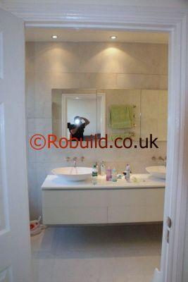 Perfect White Mosaic Bathroom  Albums Interior Decoration Design