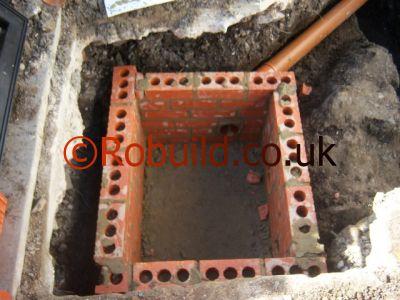 manhole walls