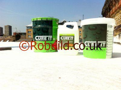 fibreglass flat roof membrane