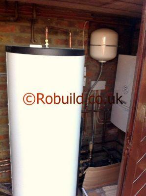 boiler water tank closed pressure vessel