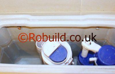 wc cistern ball valve