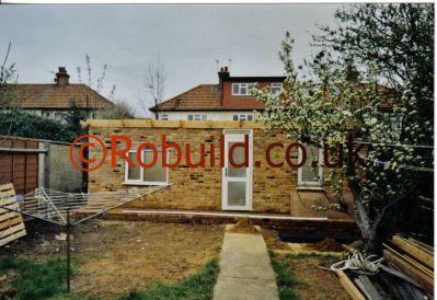 building a garden office. Garden Office Brickwall Building A M