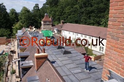 Listed building roofing roofers