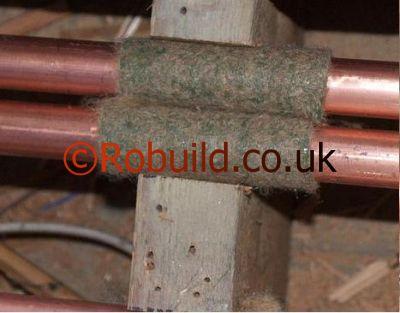 New boiler installation - underfloor heating - pipes noise solution ...