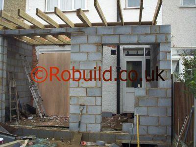 basic flat roof construction