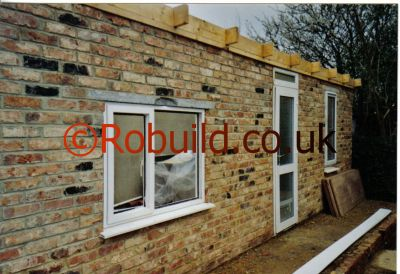 reused bricks