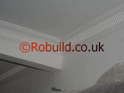 cornice ceiling wall