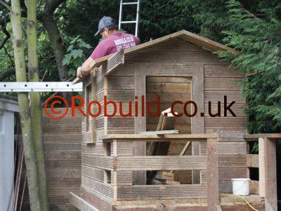 children's wooden garden play houses