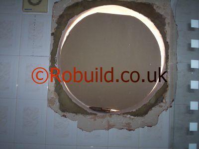 round window opening