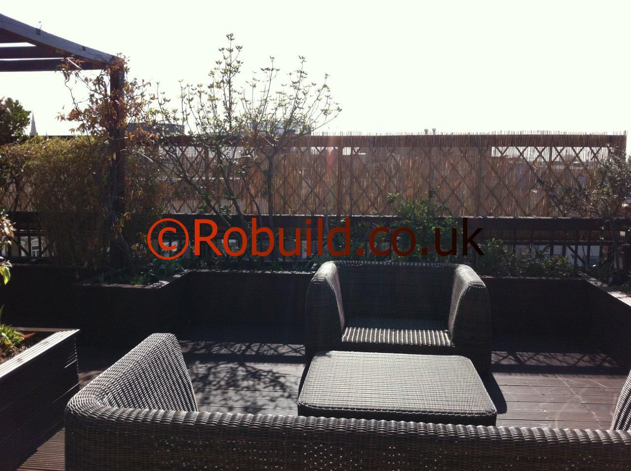 pergola roof terrace london