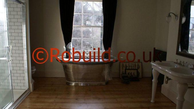 Conservation Area New Bathroom En Suite Robuild Builders London